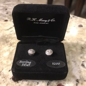 e66411e1deb Macy s Jewelry - Diamond stud earrings 1 10 ct.